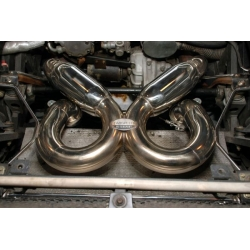 Lamborghini Diablo Supersport Exhaust X-Pipe with Dual Tips